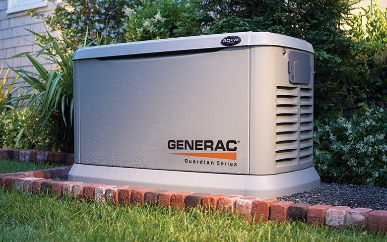 outdoor standby generator