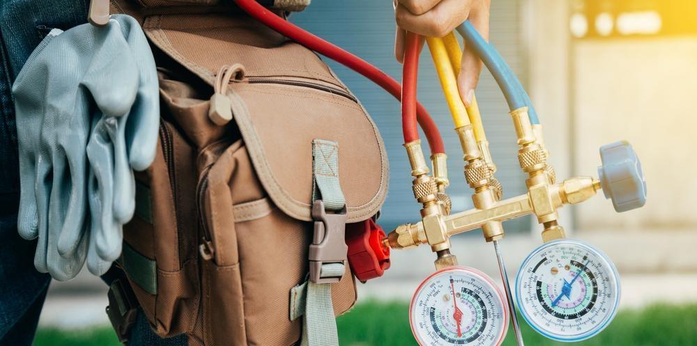 AC Repair Tool belt