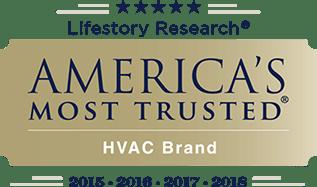 America's Most Trusted HVAC brand