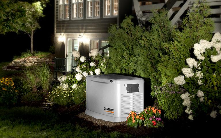 Whole home generator set up
