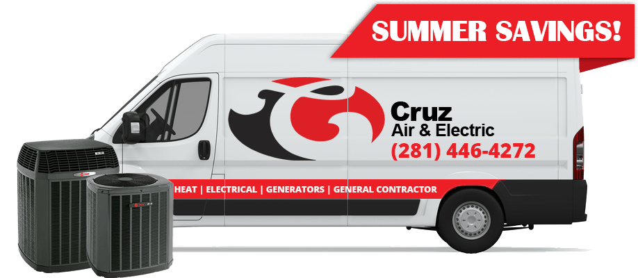 Cruz air & electric summer savings ad