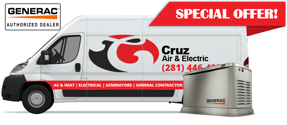 cruz air & electric special offer ad